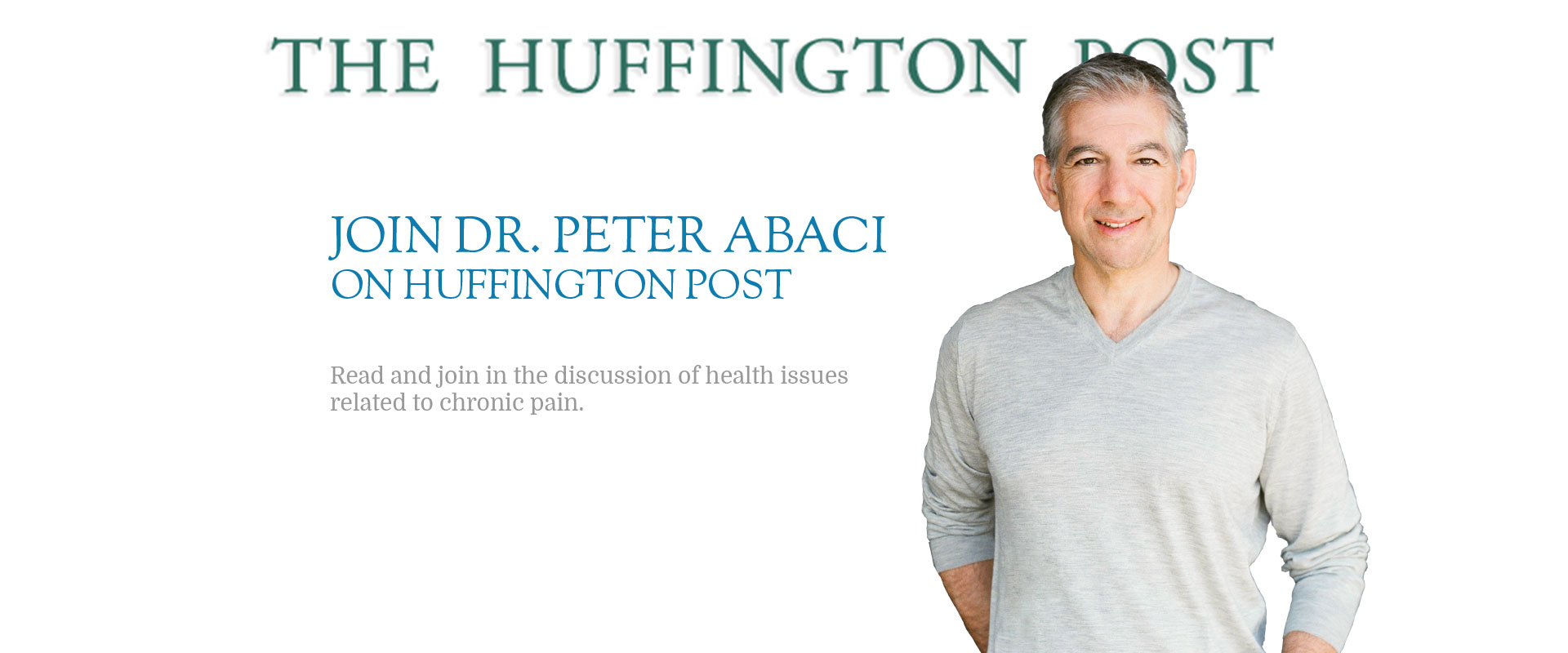 Peter Abaci MD on Huffington Post